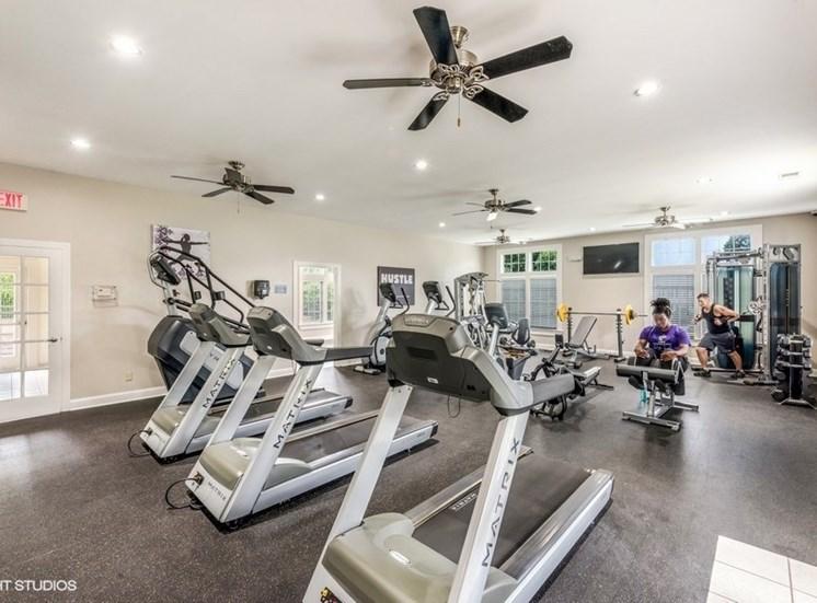 Modern Fitness Center at Brittany Commons Apartments, Spotsylvania, 22553